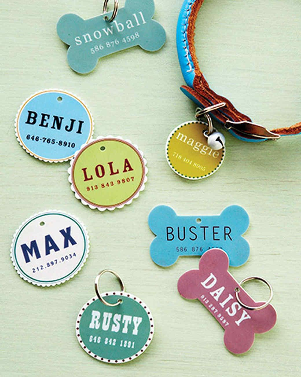Pet Tag Martha Stewart