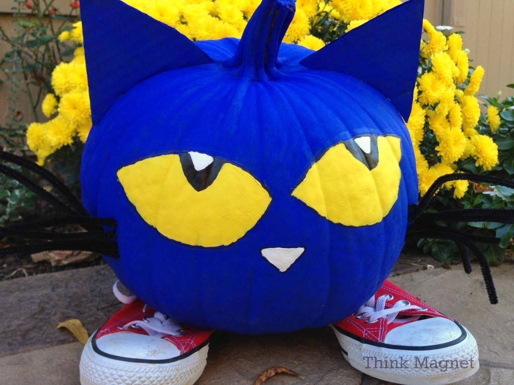 Pete Cat Pumpkin