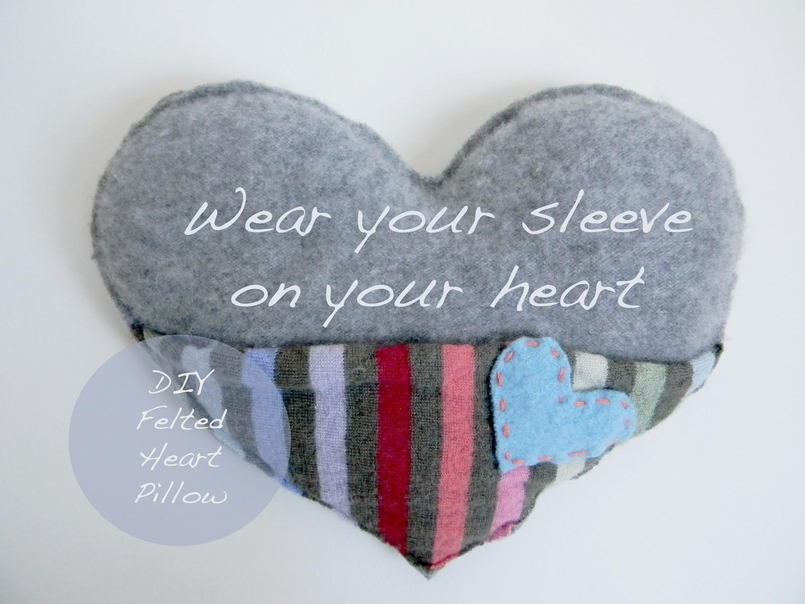 Petit Cadeau Wear Your Sleeve Heart Diy