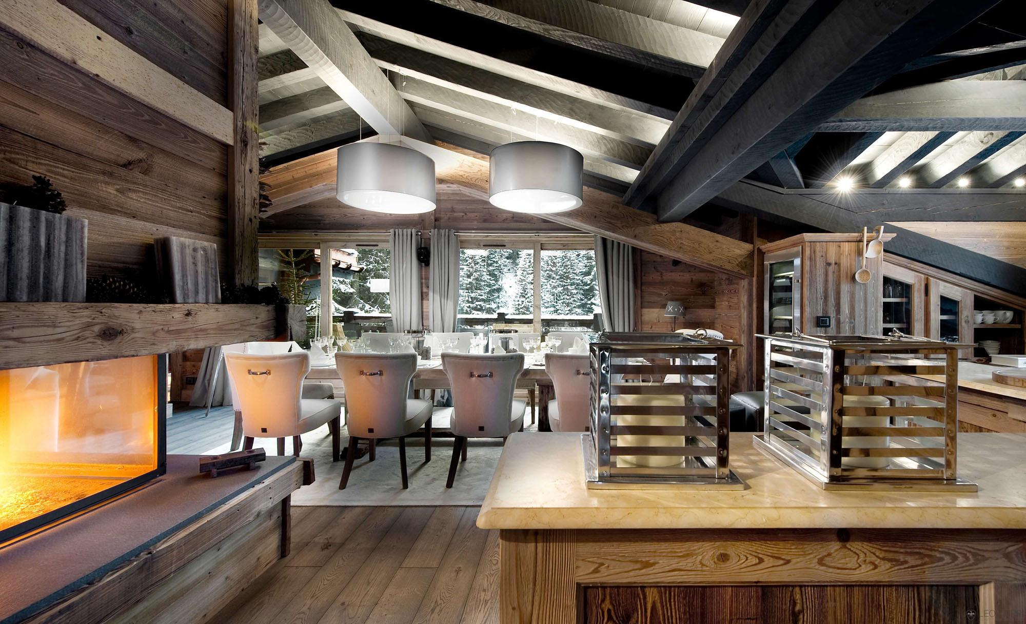 Petit Chateau Luxury Ski Chalet Courchevel