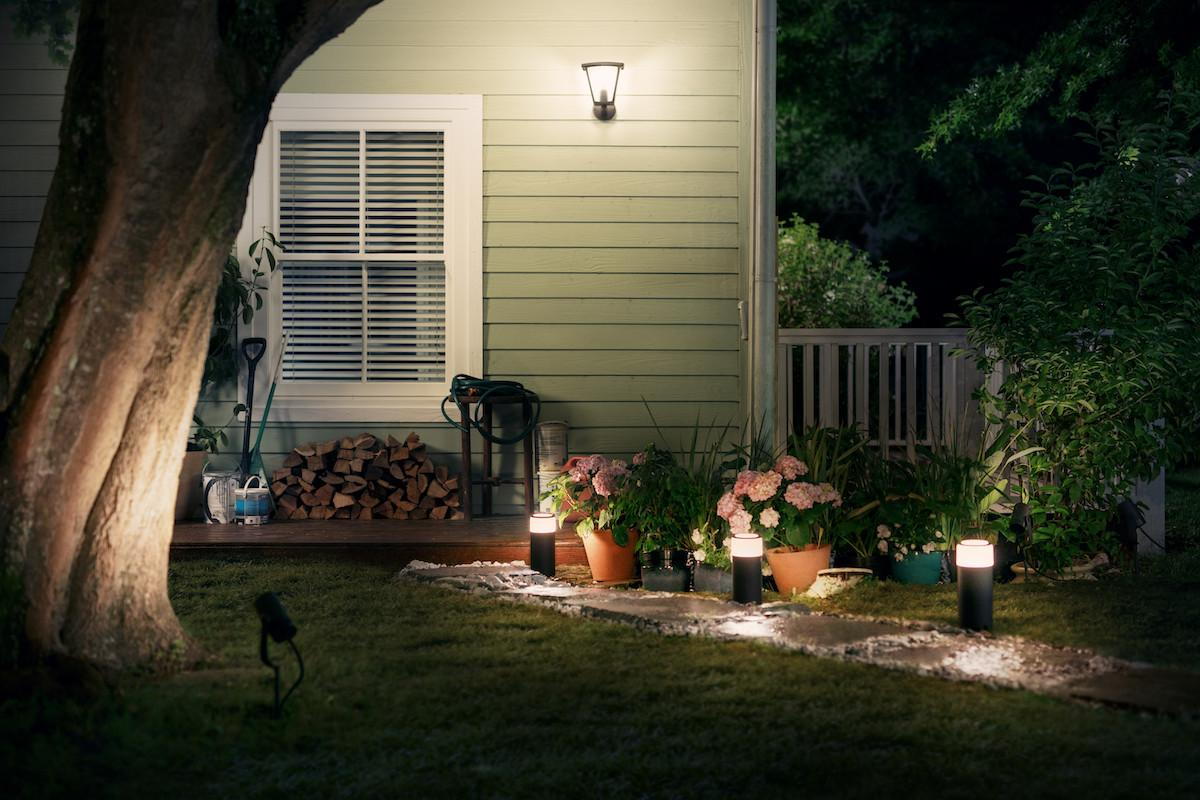 Philips Hue Reveals First Products Outdoor Lighting
