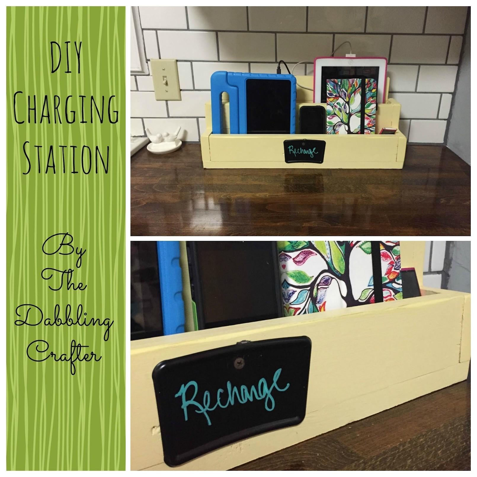 Phone Charging Station Shelf Collect Idea Iphone