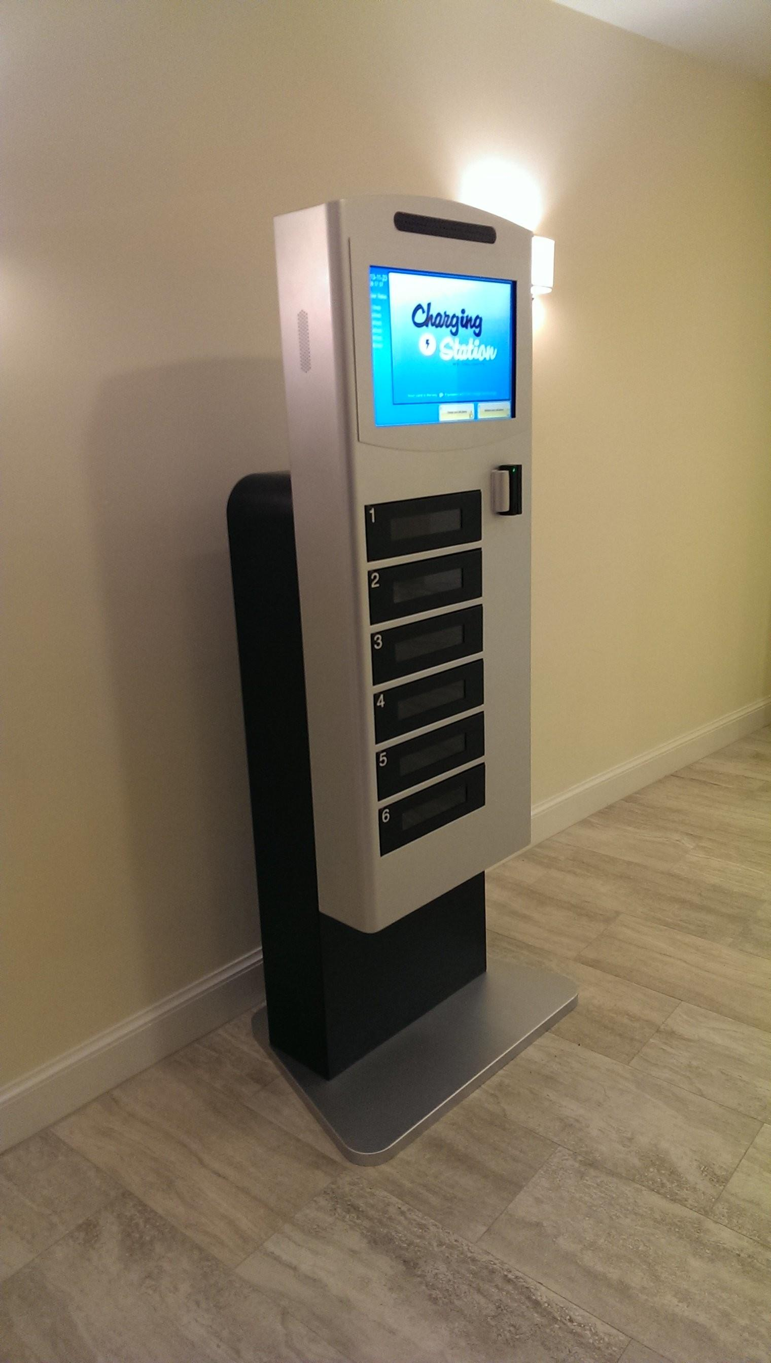 Phone Charging Stations Found