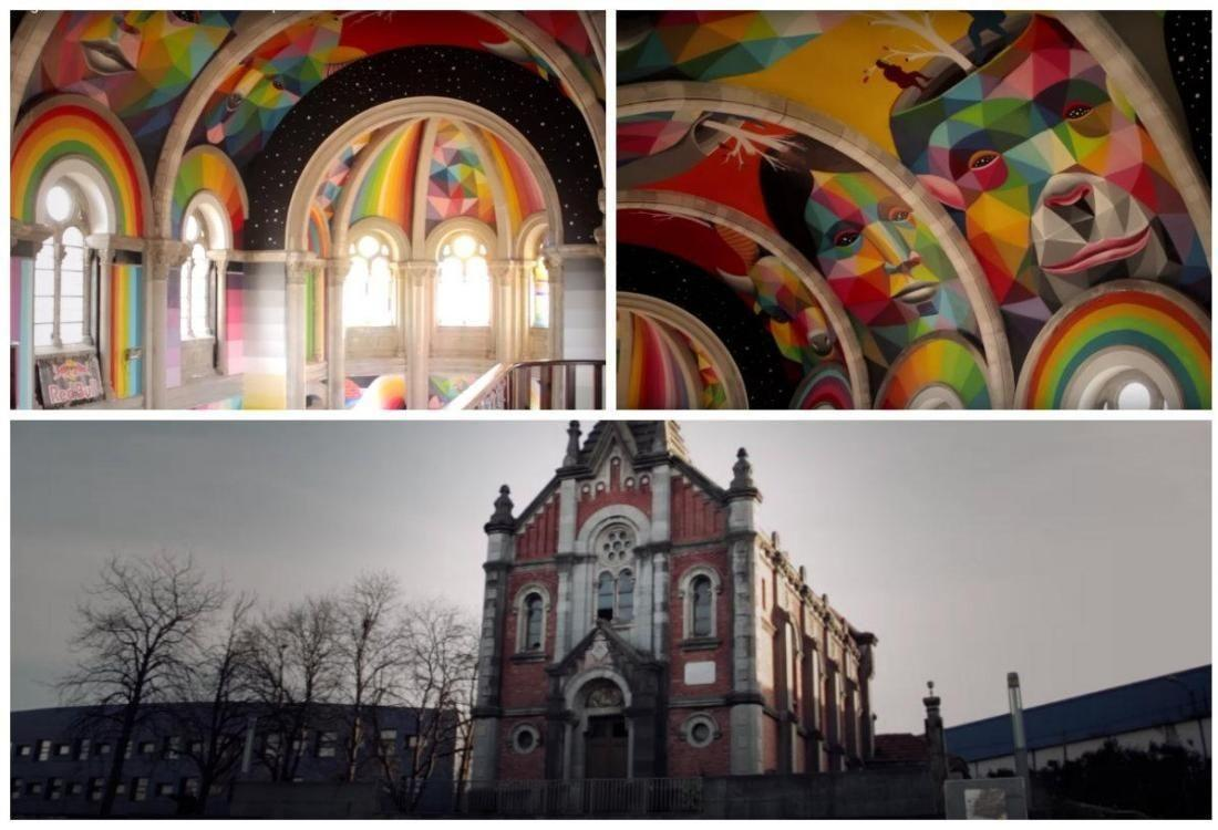 Photos Church Becomes Multi Colored Skate Park Mixed