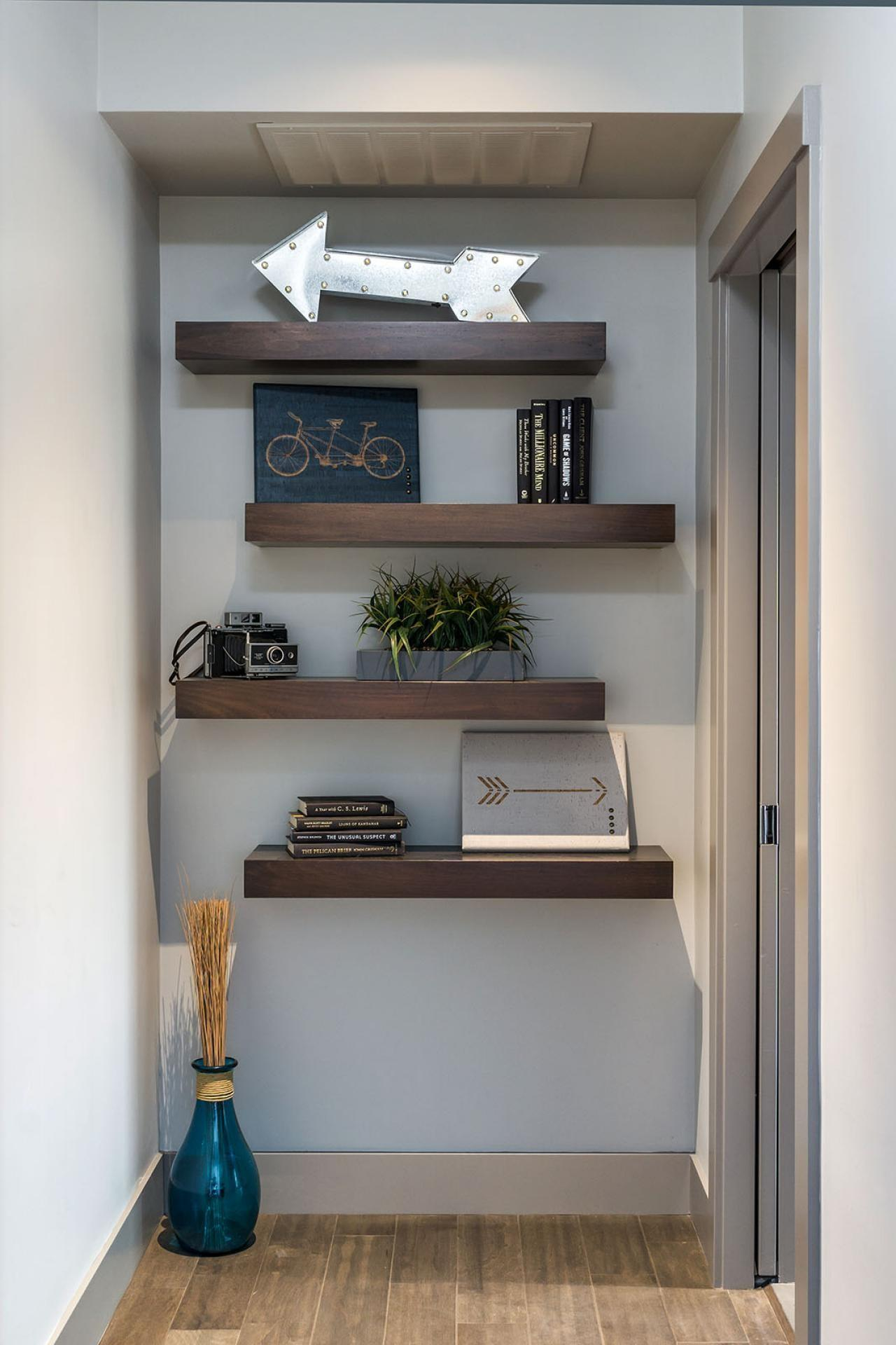 Photos Decorative Floating Shelves Contemporary