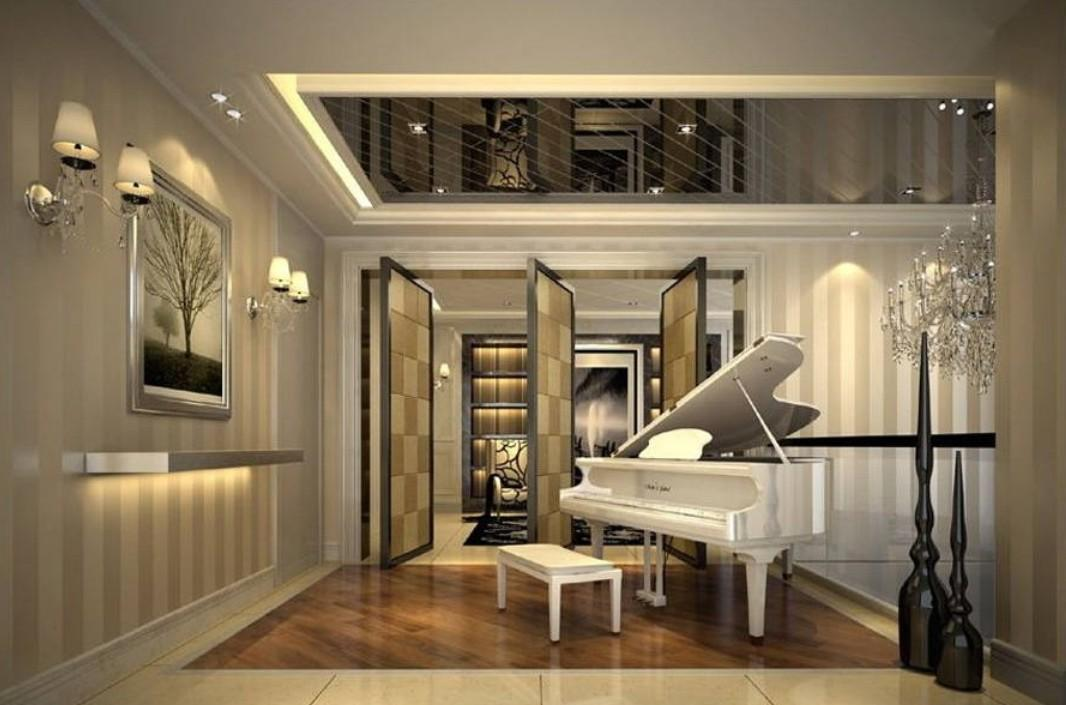 Piano Room Design Ideas Formal Family Gathering