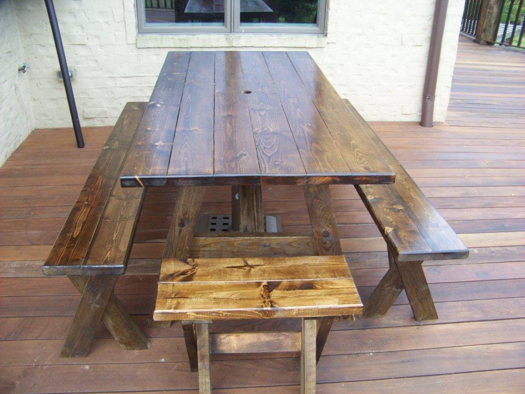 Picnic Bench Dining Table