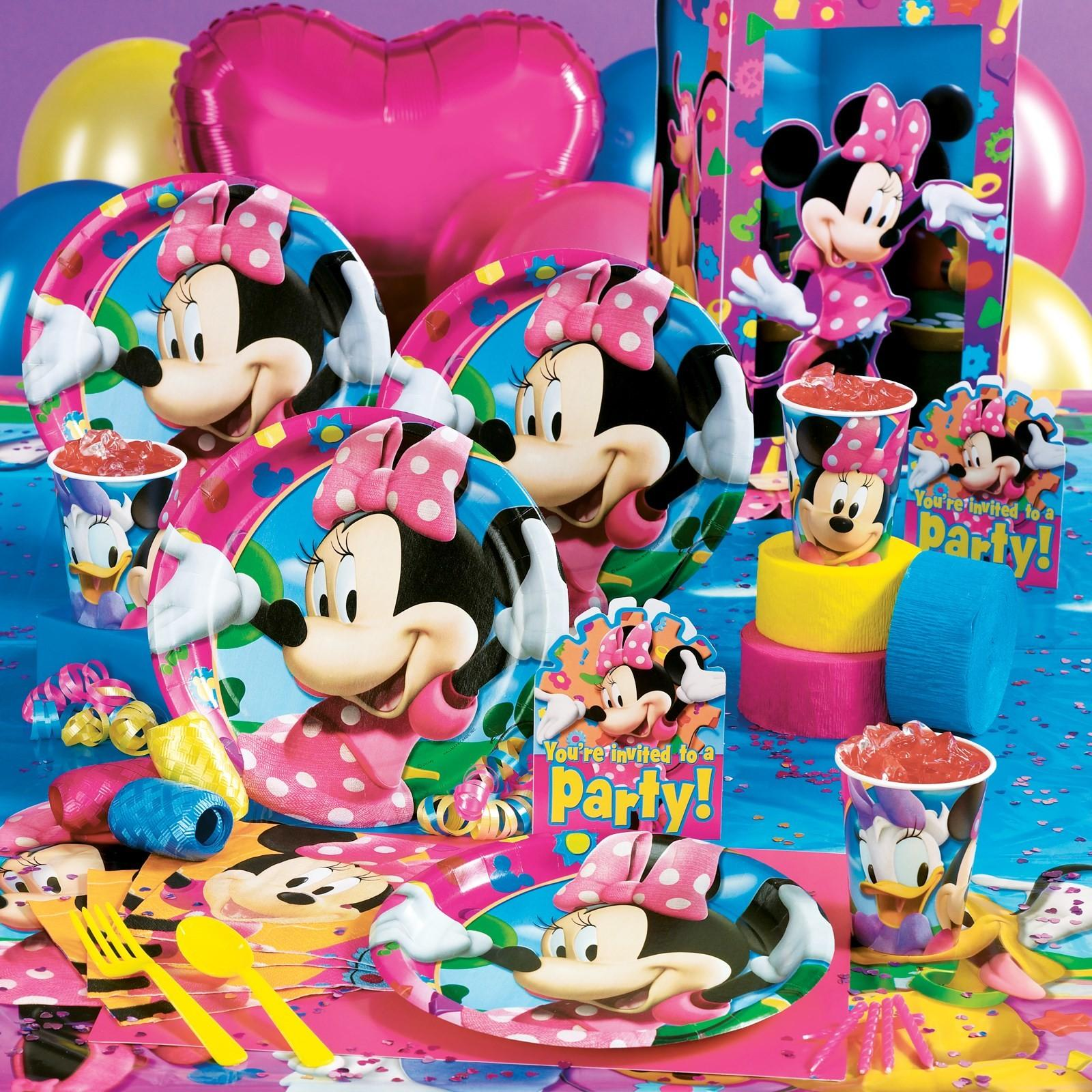 Picnic Party Minnie Mouse Supplies