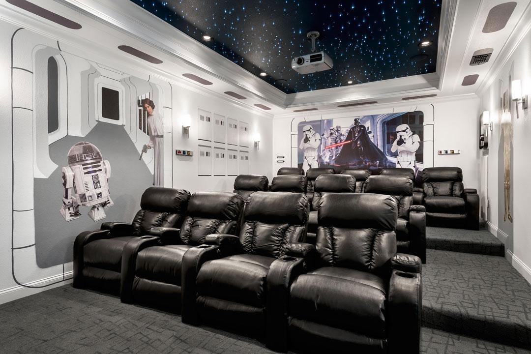 Pics Best Star Wars Inspired Home Theaters
