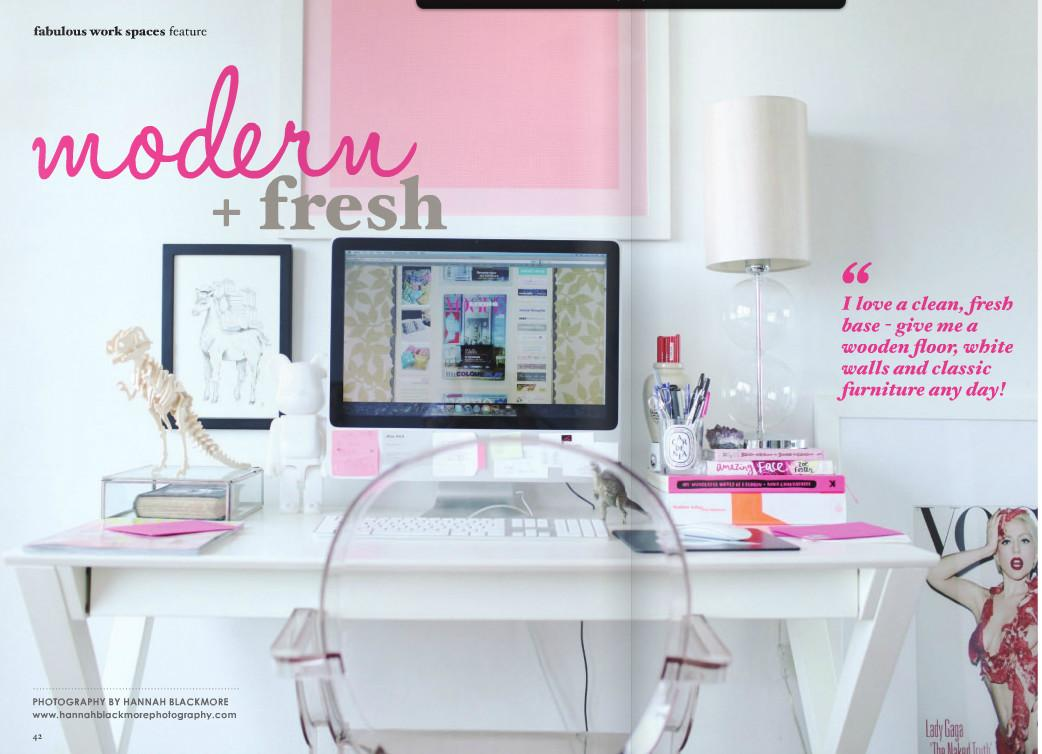 Pics Modern White Home Office