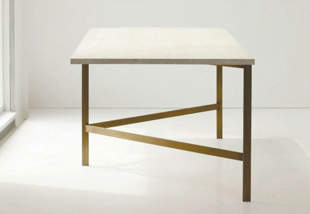 Picturesque Bassamfellows Plank Dining Tables