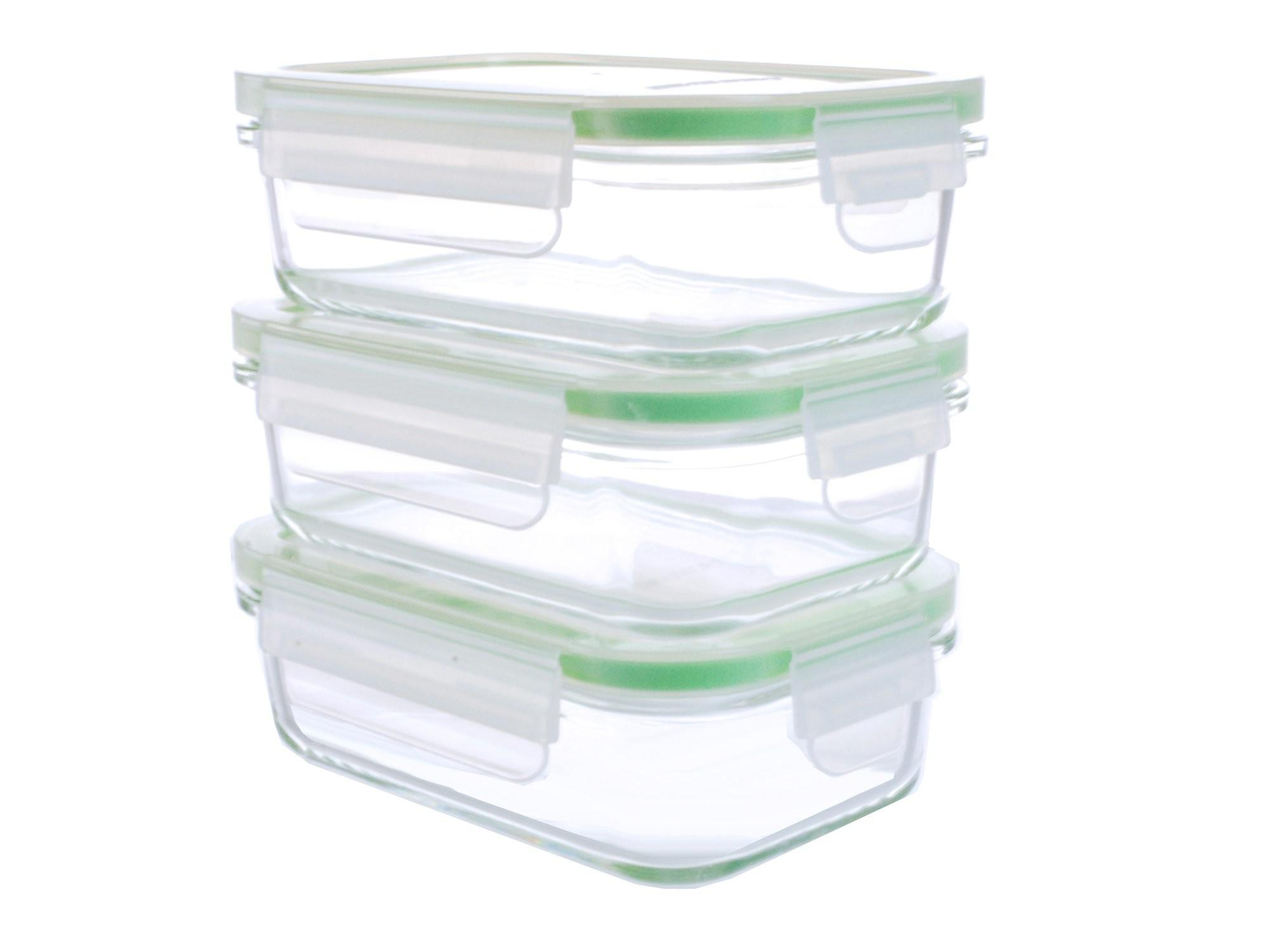 Piece Pyrex Glass Food Storage Container Set 14oz
