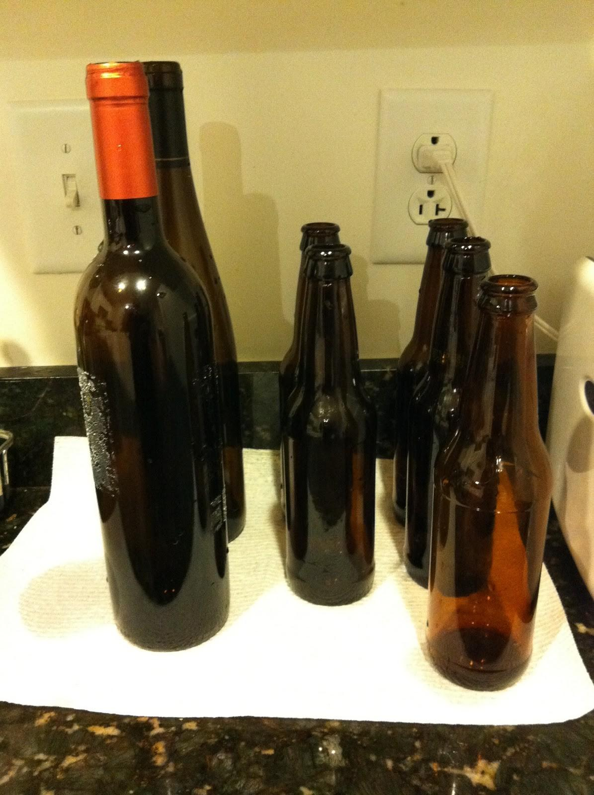 Pieces Anna Diy Wine Beer Bottle Vases