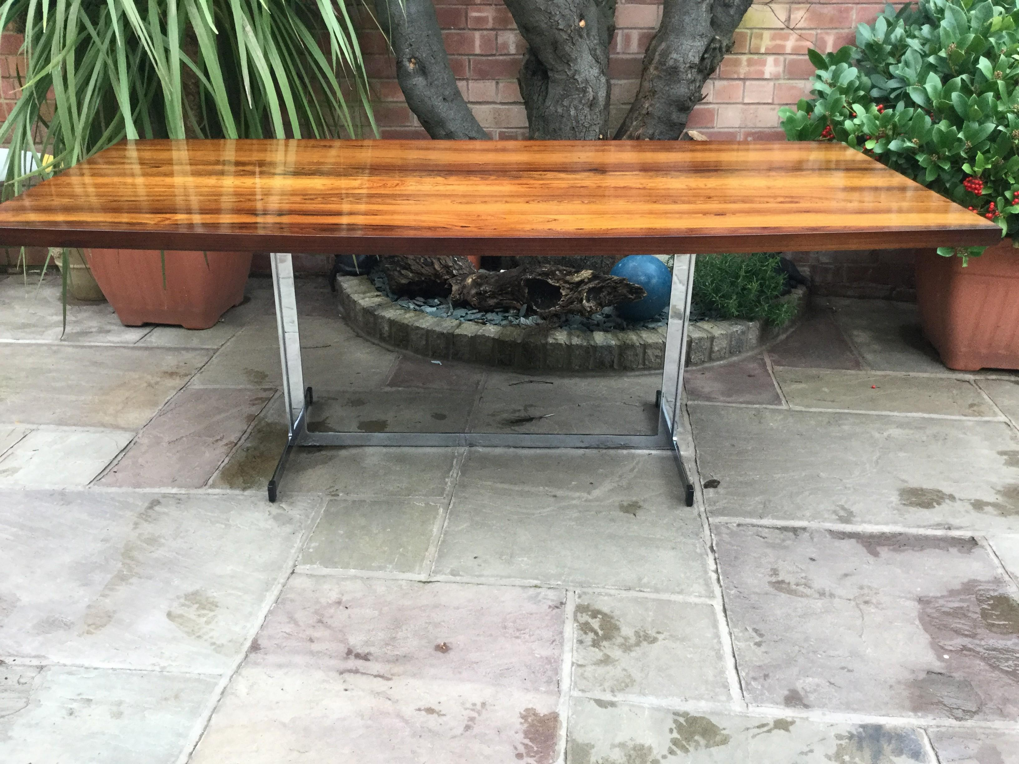 Pieff Iconic 1970s Rosewood Dining Table Ansdell Artifacts