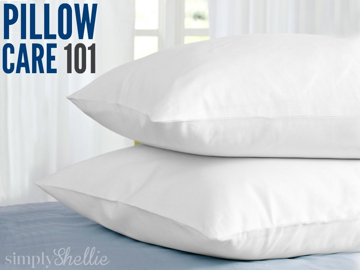 Pillow Care 101 Wash Whiten Dry Pillows