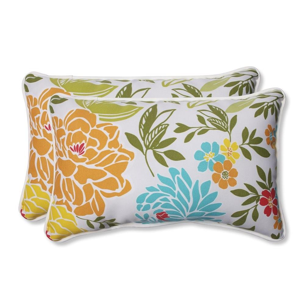 Pillow Perfect Spring Bling Rectangular Outdoor Throw
