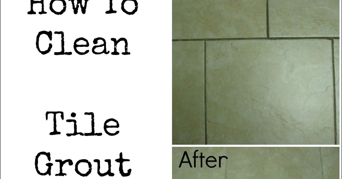 Pin Junkie Clean Tile Grout