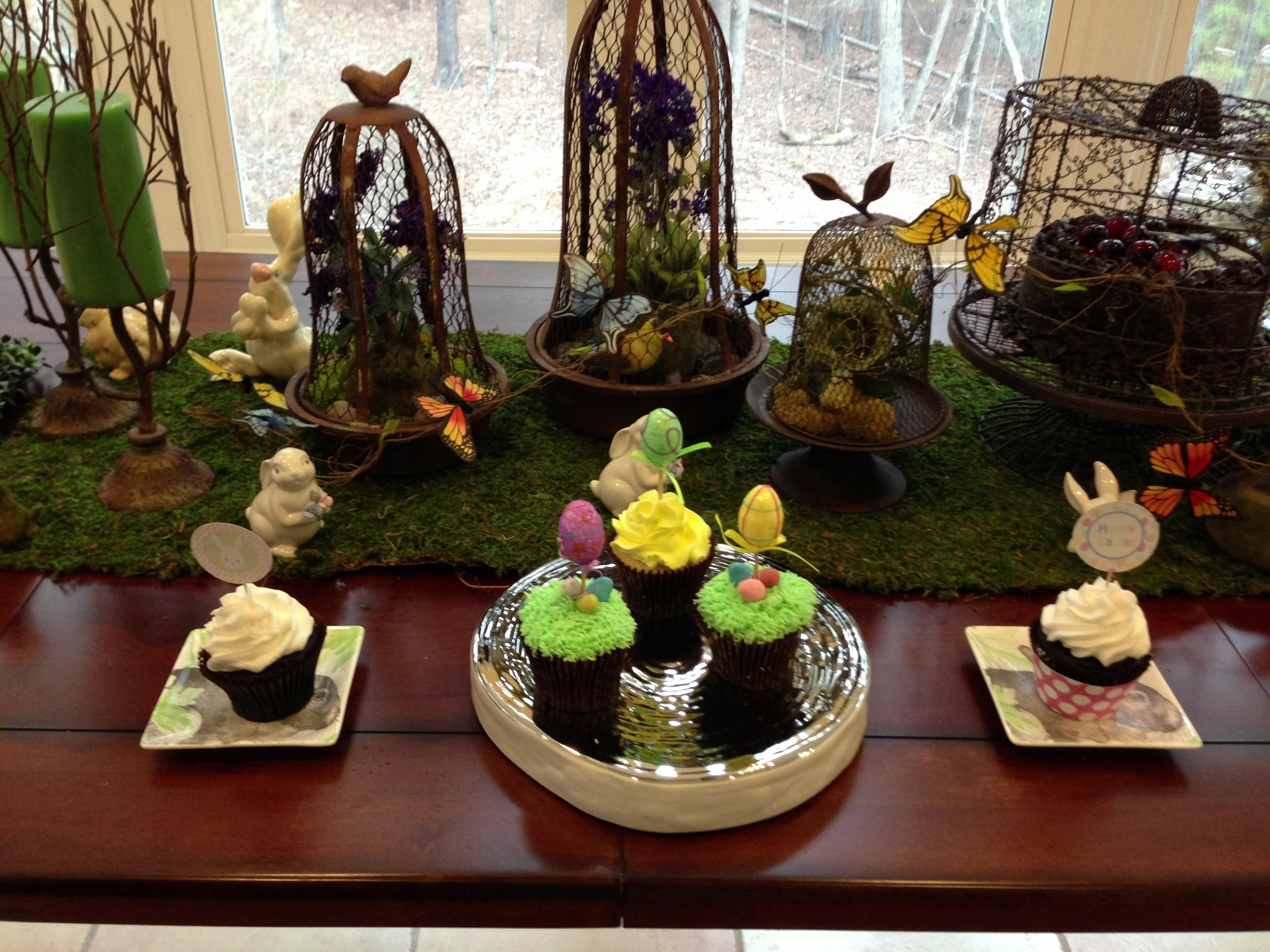 Pin Rustic Easter Party Table Decor Decorate Home