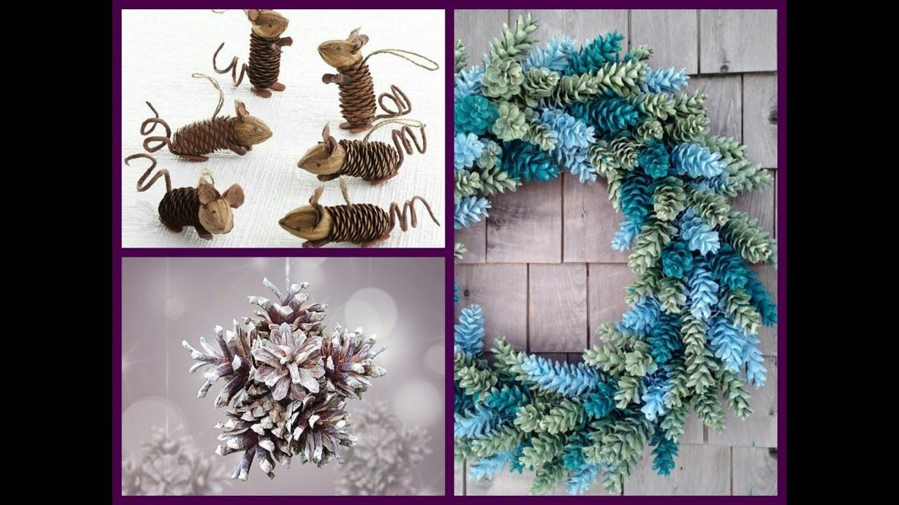 Pine Cone Crafts Ideas Diy Decor