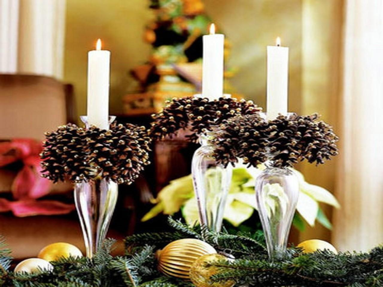 Pine Cone Ornament Ideas Diy Pinecone Candles