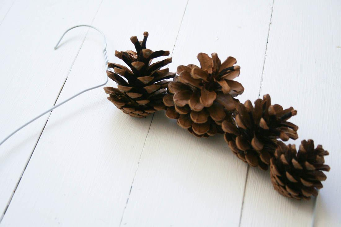 Pine Cone Wreath Tutorial Apartment Apothecary