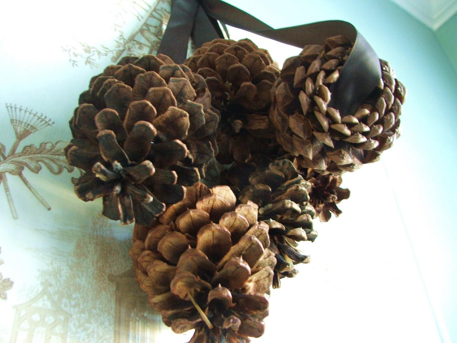 Pinecone Swags Diy Cleverly Inspired