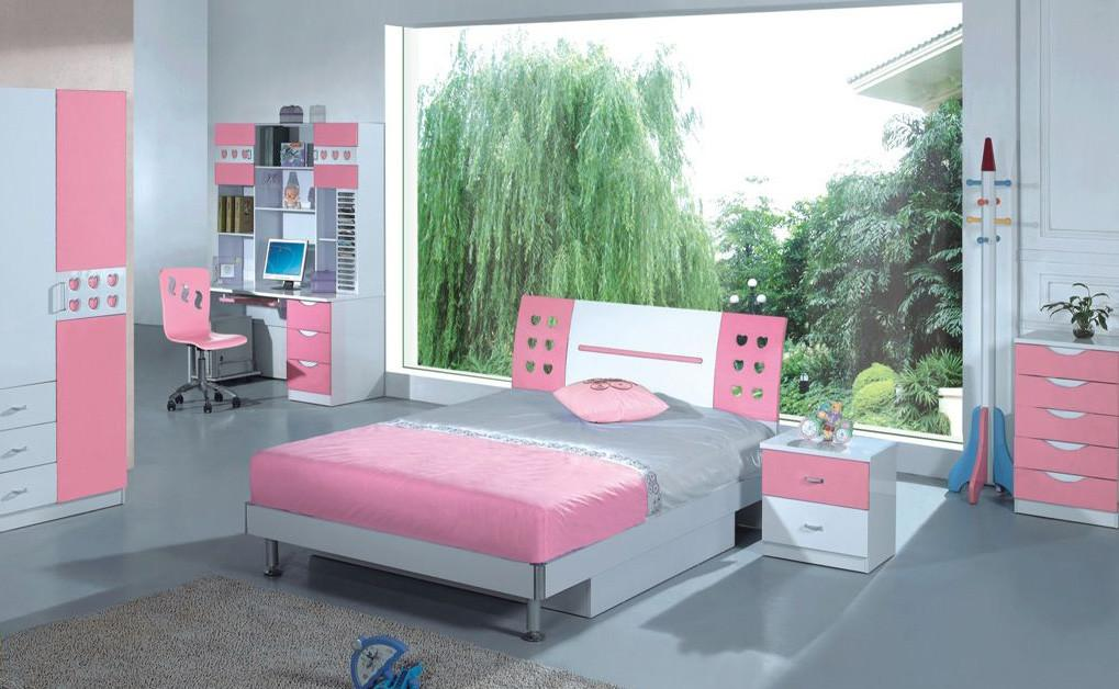 Pink Bedroom Interior Awesome Home Design