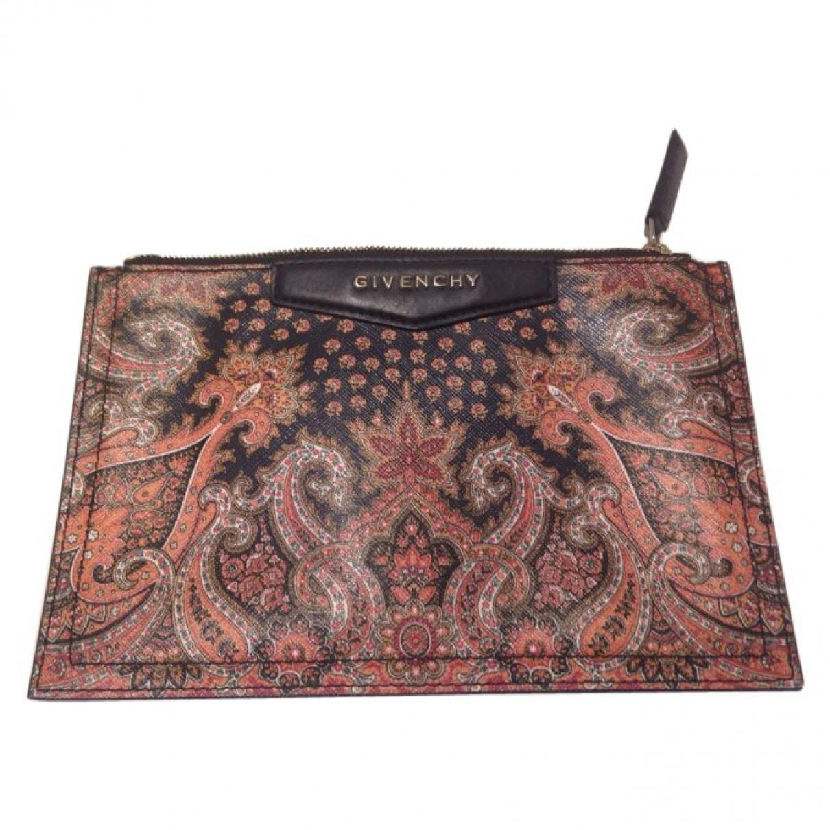 Pink Floral Givenchy Clutch Bag Vestiaire Collective
