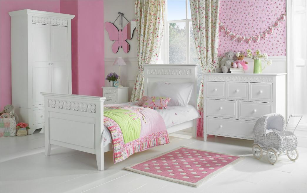 Pink Girls Bedroom Furniture Diy Makeover