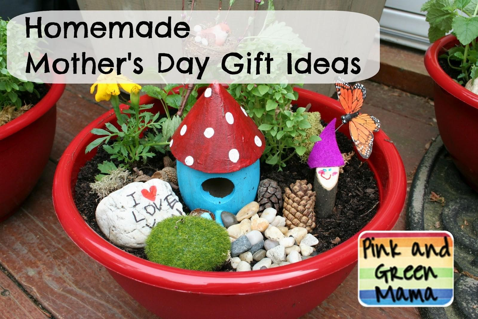 Pink Green Mama Homemade Mother Day Gift Ideas