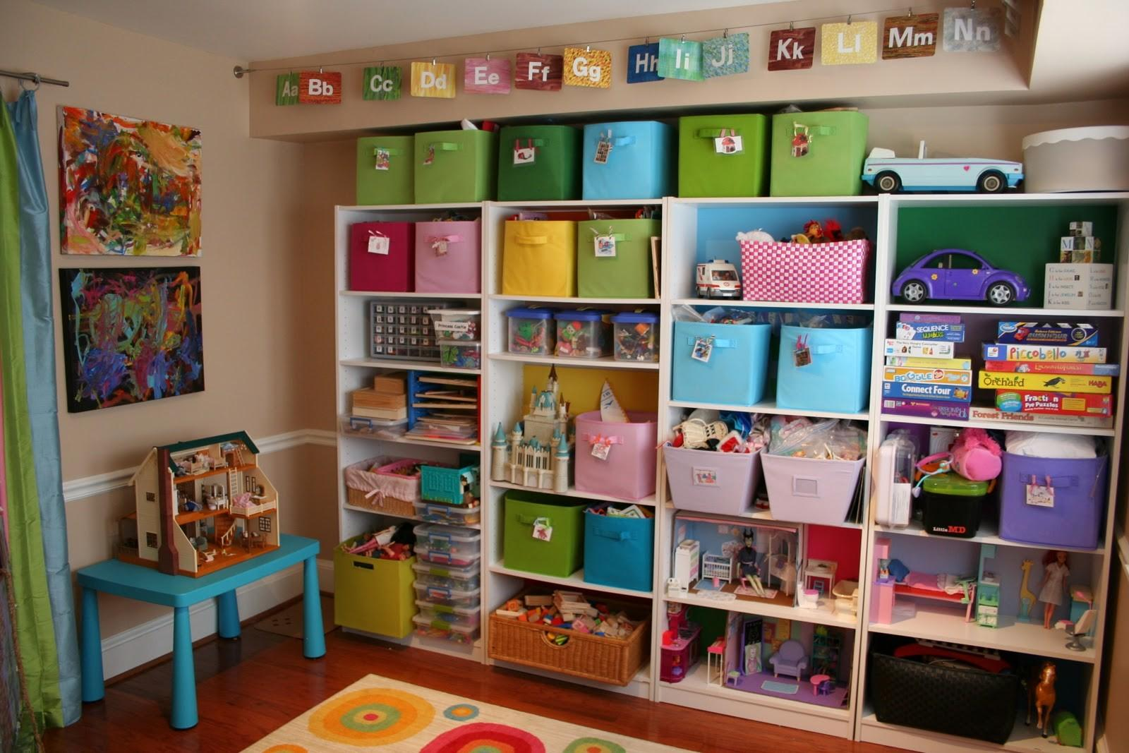 Pink Green Mama Kid Friendly Spaces Toy Storage