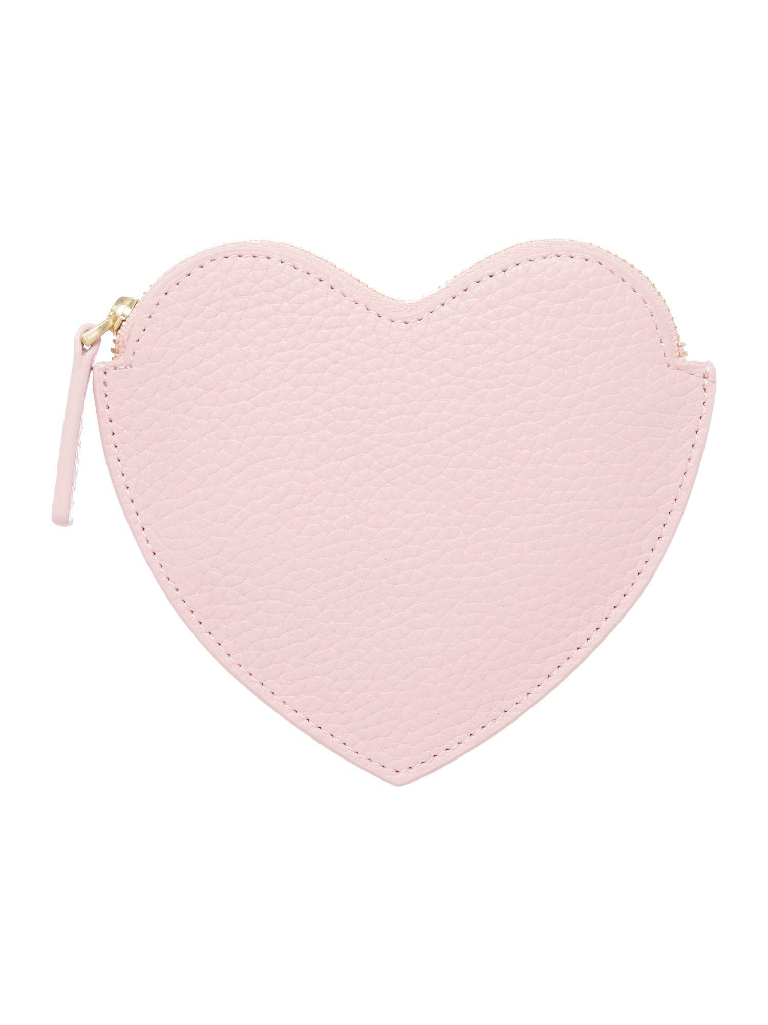 Pink Leather Coin Purse House Fraser