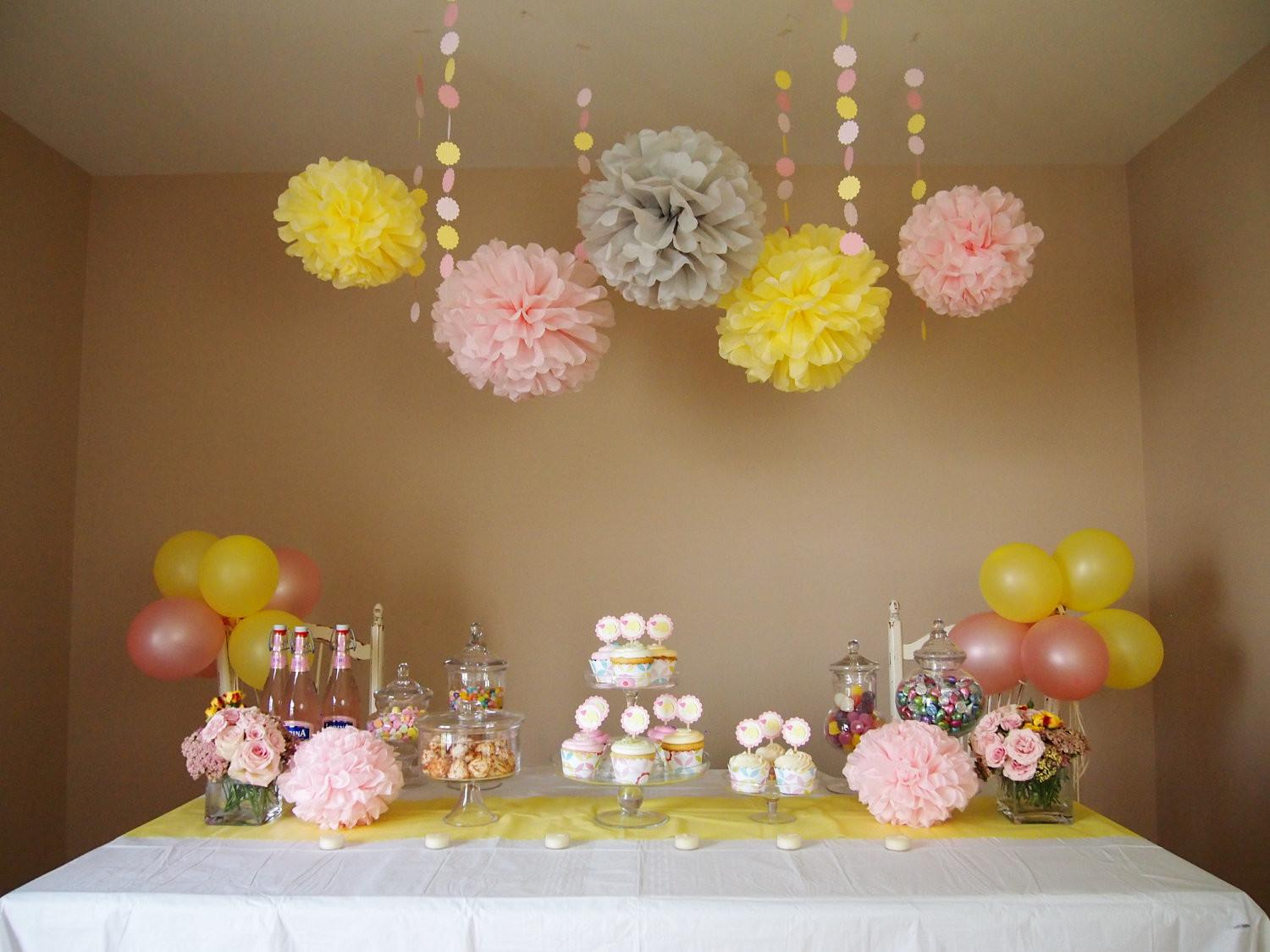 Pink Lemonade Diy Party Decoration Package Baby