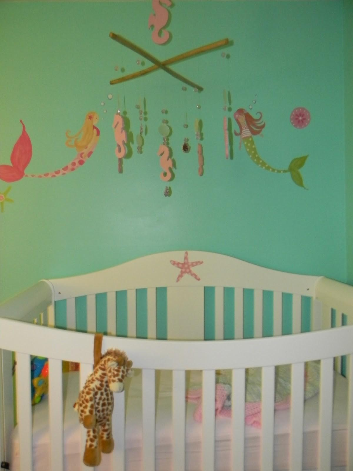 Pink Love Kick Mermaid Nursery