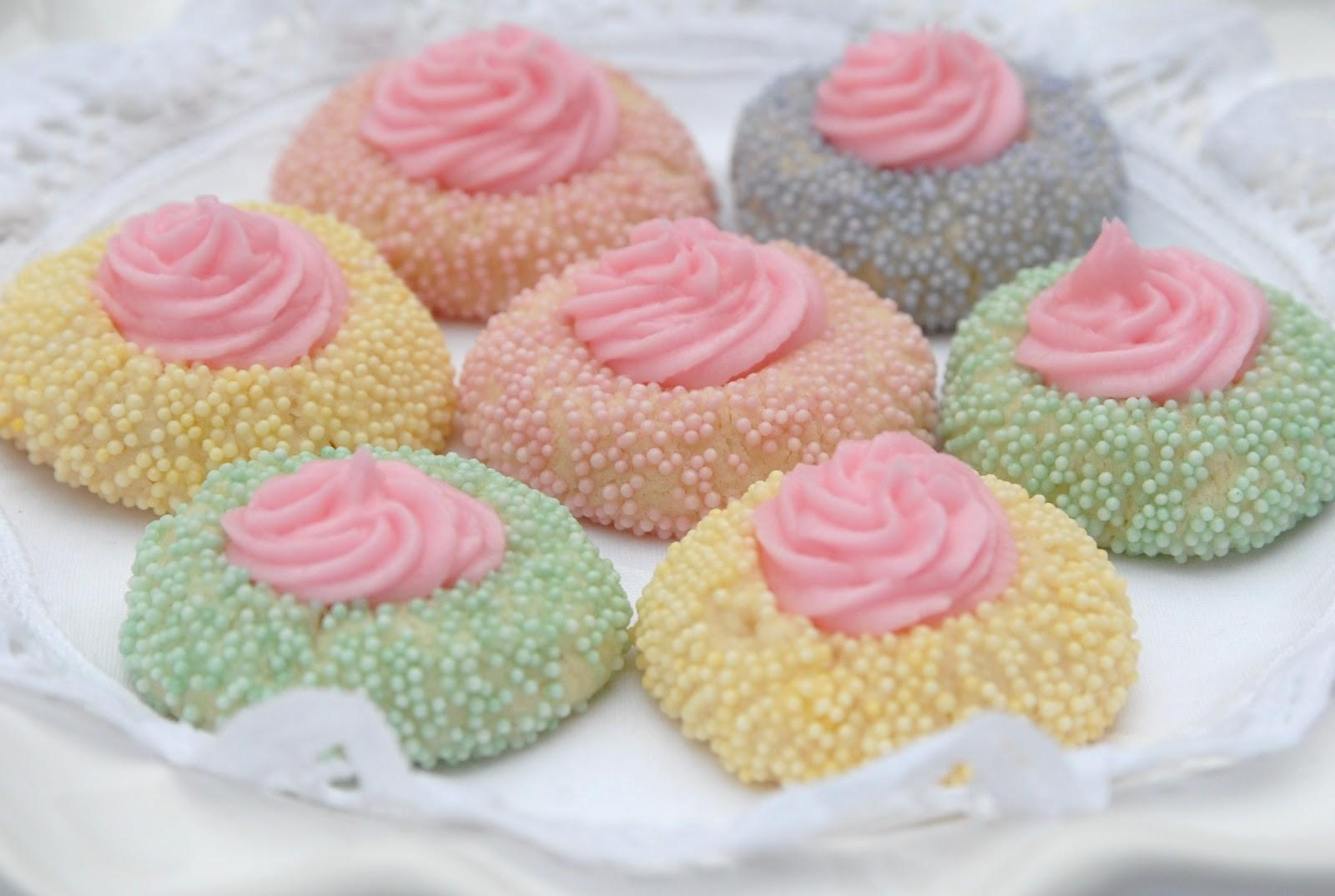 Pink Piccadilly Pastries Wonderful Pastel Thumbprint