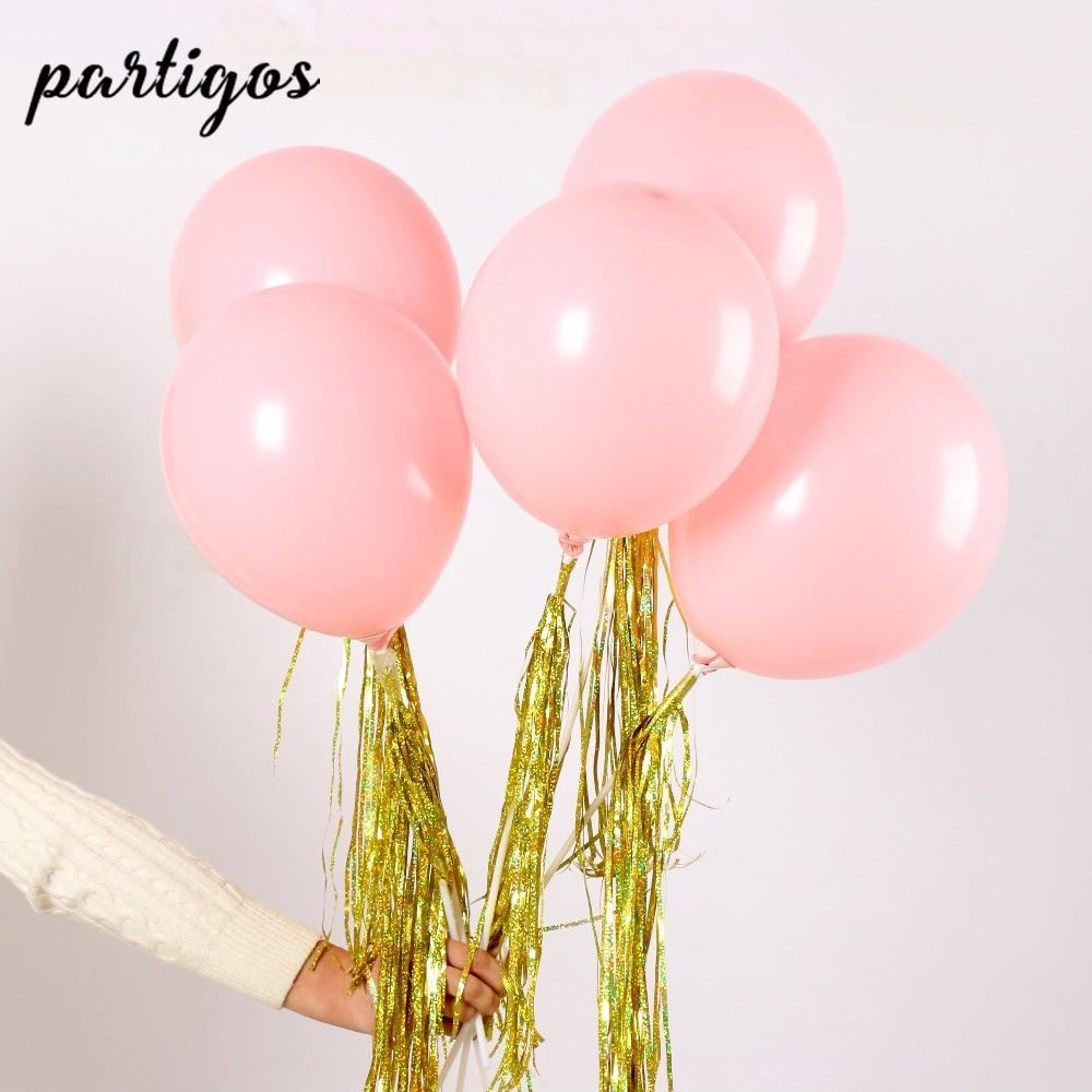 Pink Ribbon Balloons Shopping