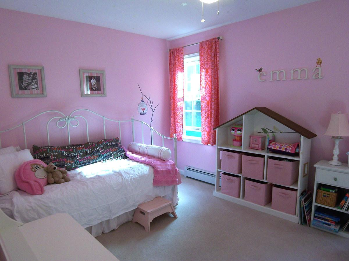 Pink Room Without Princess Accessories