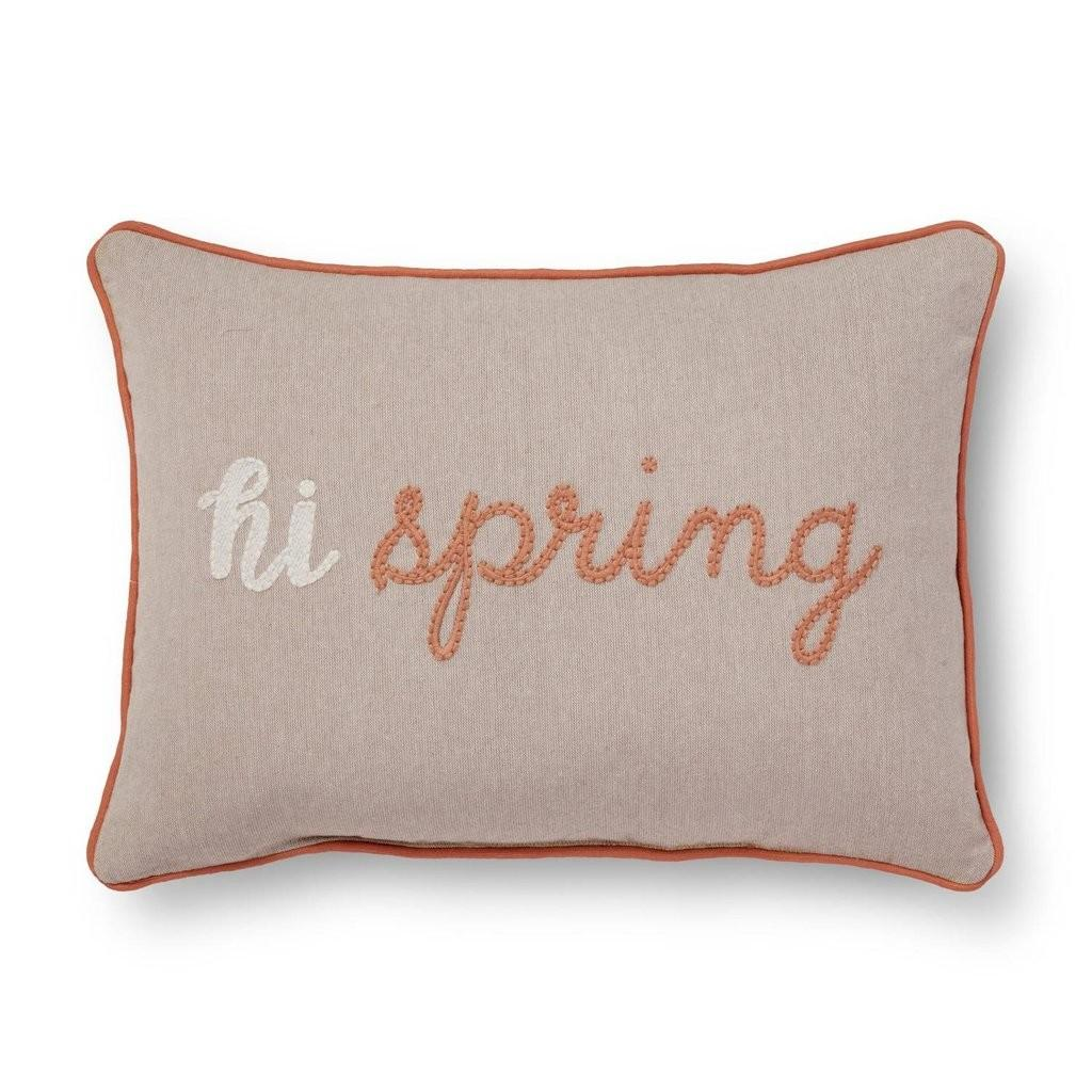 Pink Spring Throw Pillow Cheap Products Target