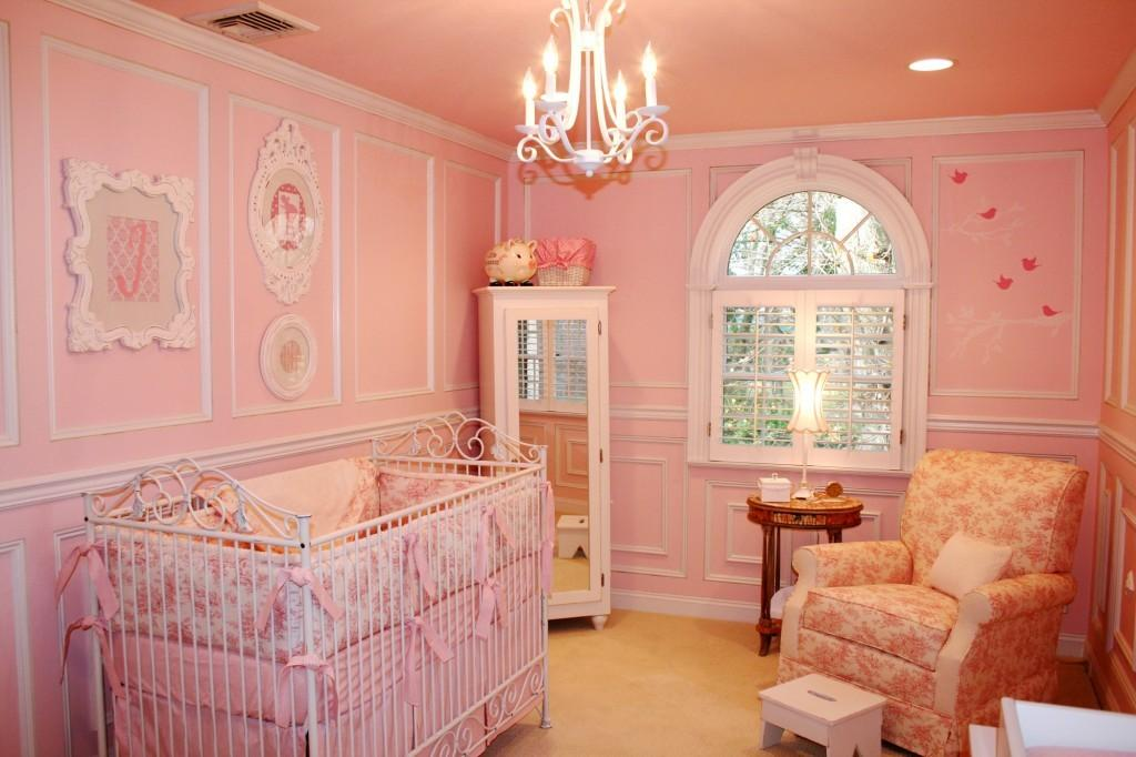 Pink Toile Shabby Chic Nursery Project