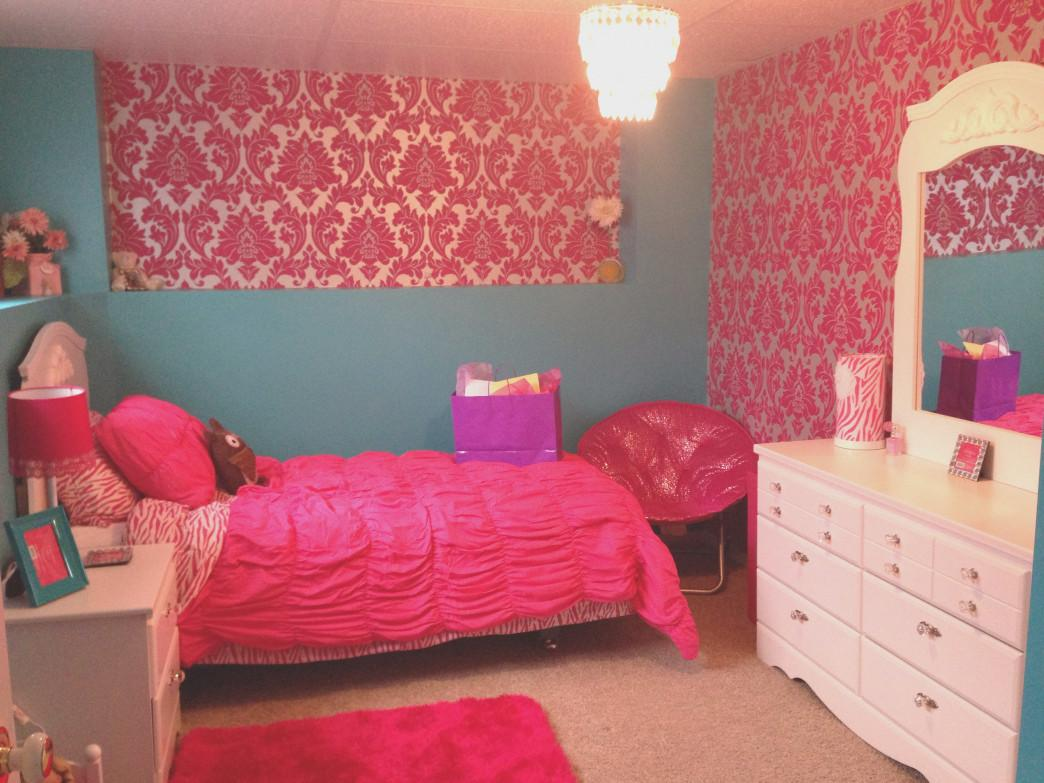 Pink Zebra Bedroom Diy Makeover