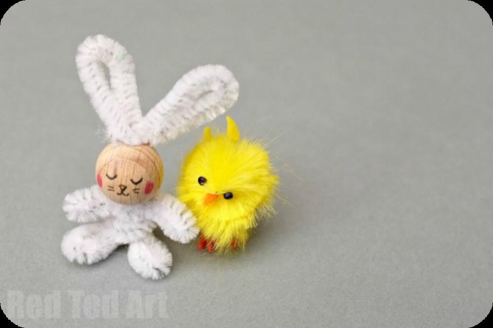 Pipe Cleaner Bunny Craft Fizzy Pops