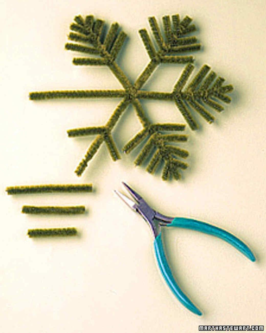 Pipe Cleaner Decorations Christmas Tree Martha Stewart