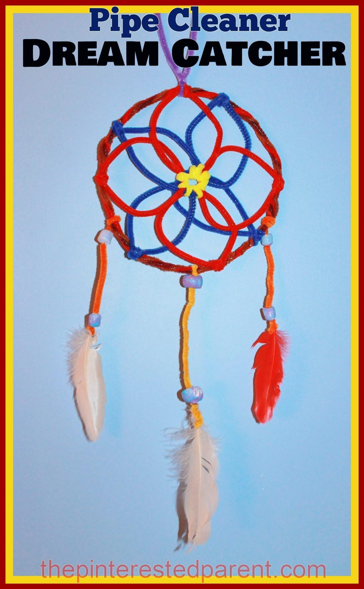 Pipe Cleaner Dream Catcher Pinterested Parent