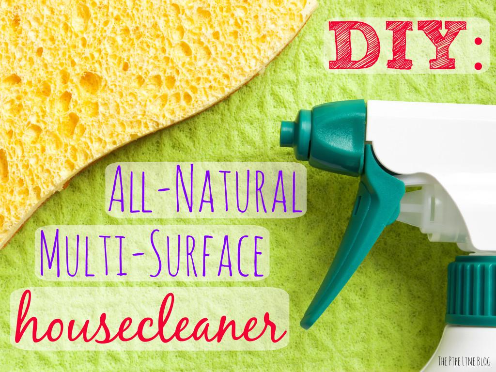 Pipe Line Diy All Natural Multi Surface Housecleaner