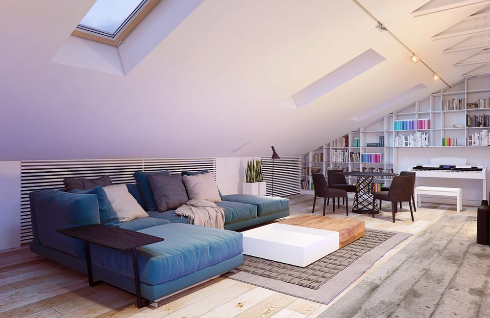 Pitched Roof Living Room Interior Design Ideas Decoratorist 120220