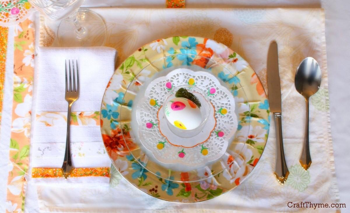 Place Setting Archives Craft Thyme