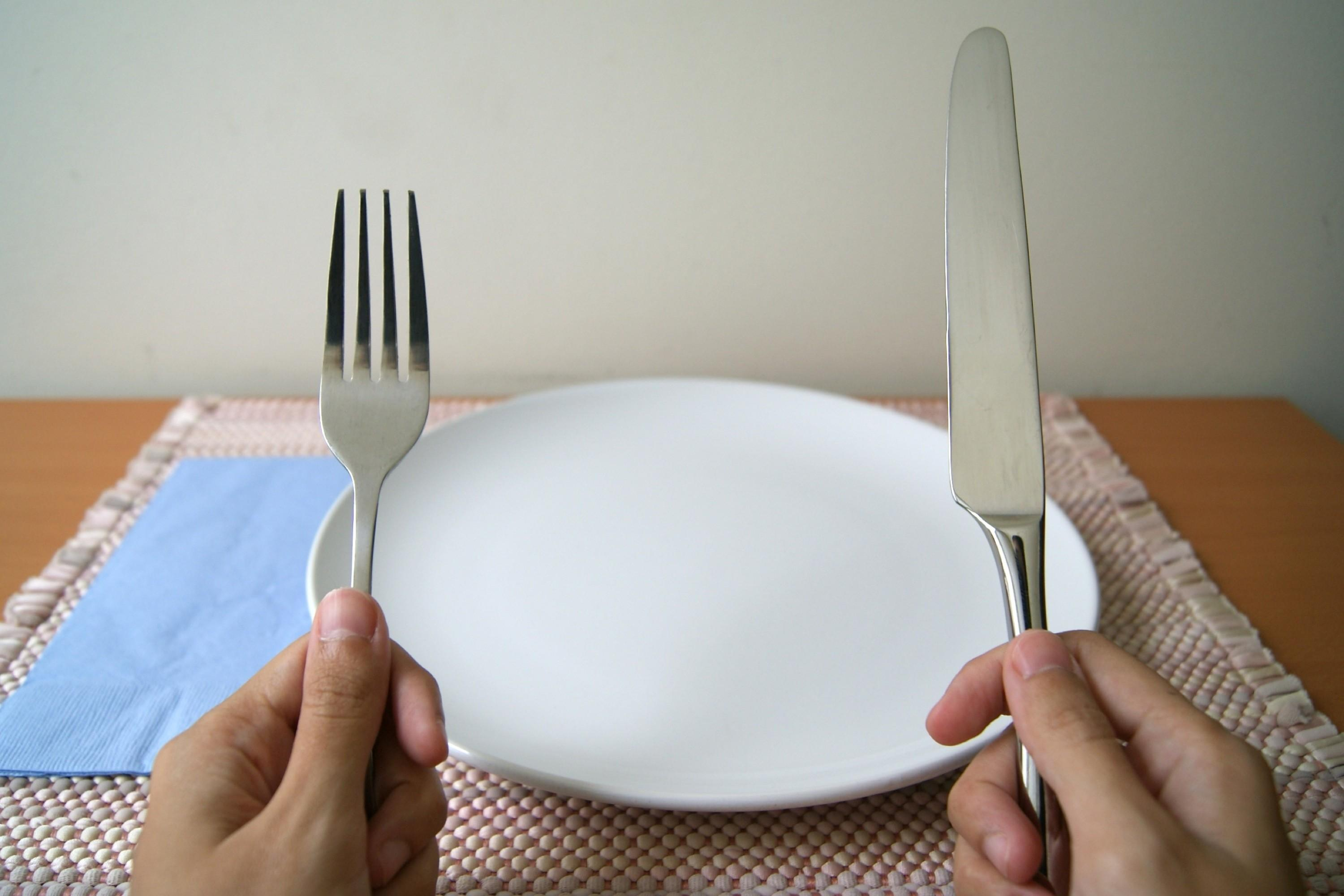 Place Utensils Finished Eating Our Everyday Life