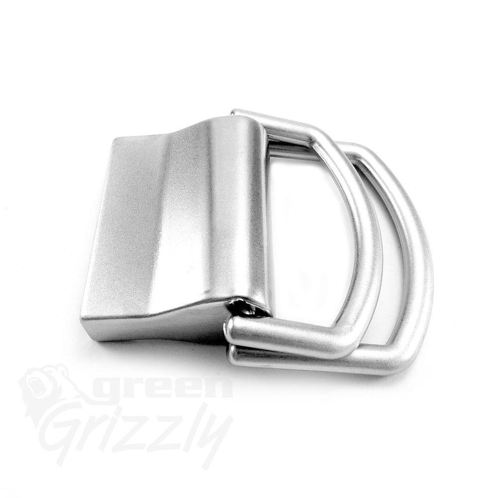 Plain Belt Buckle Solid Nickel Plated Webbing