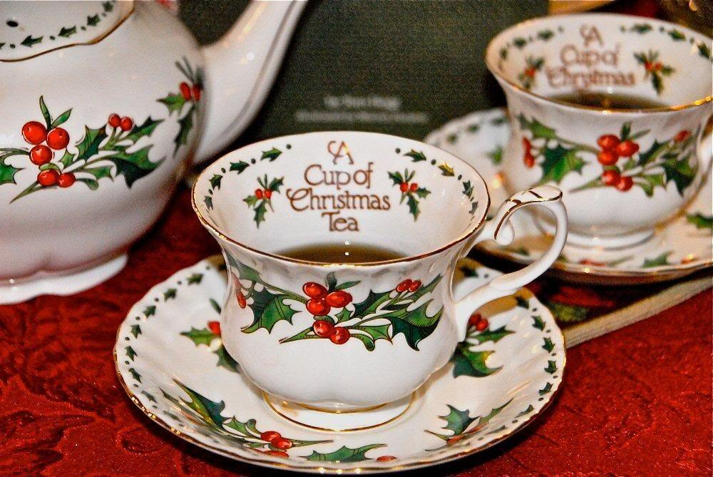 Plan Christmas Tea Party Jungpana Vintage