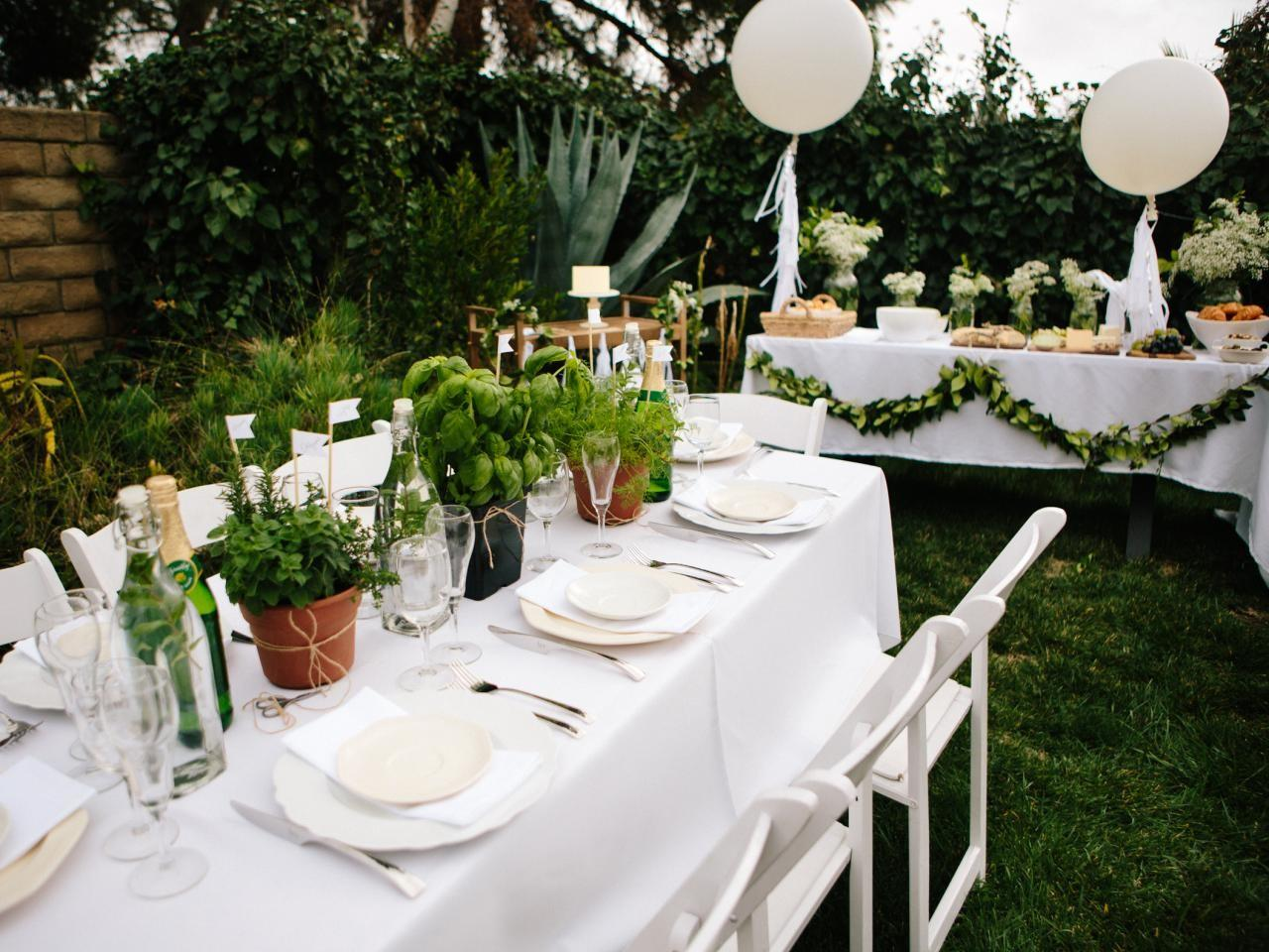 Plan French Inspired All White Baby Shower